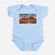 Road Trough Desert Body Suit