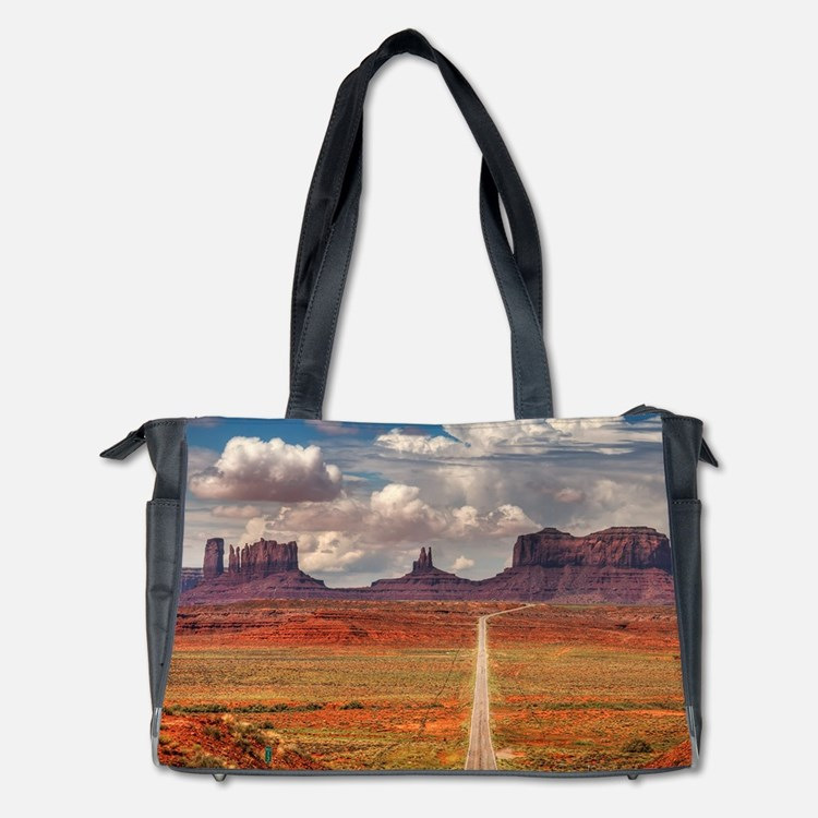 Road Trough Desert Diaper Bag