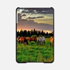 Horses Grazing iPad Mini Case