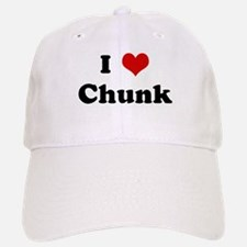 I Love Chunk Baseball Baseball Cap