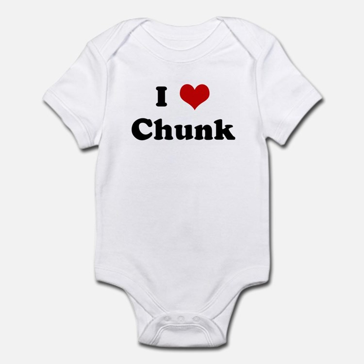 I Love Chunk Infant Bodysuit