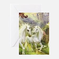 Fantasy Unicorns Greeting Cards