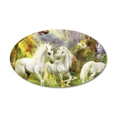 Fantasy Unicorns Wall Decal