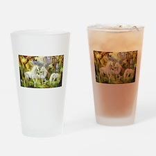 Fantasy Unicorns Drinking Glass