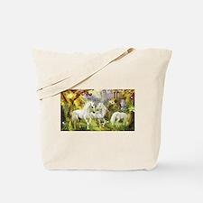 Fantasy Unicorns Tote Bag