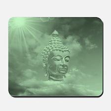buddha in green Mousepad
