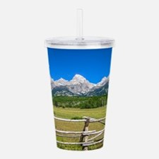 Grand Teton National Park Acrylic Double-wall Tumb