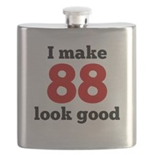 I Make 88 Look Good Flask