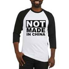 NOT Made in China Baseball Jersey