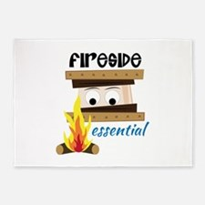 Fireside Essential 5'x7'Area Rug