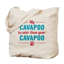 Cuter Cavapoo Tote Bag