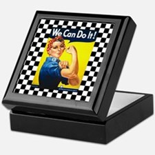 Rosie the Riveter We Can Do It Keepsake Box