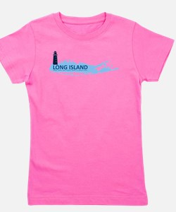 Long Island - New York. Girl's Tee