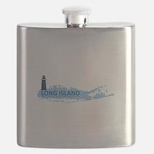 Long Island - New York. Flask