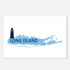 Long Island - New York. Postcards (package Of 8)
