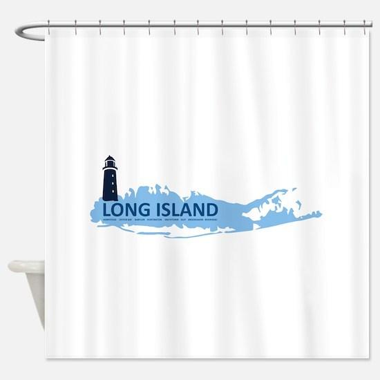 Long Island - New York. Shower Curtain