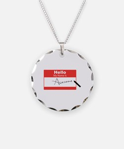 Name Is Awesome Necklace
