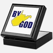 West By God Virginia Keepsake Box