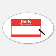 My Name Is Decal