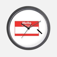 My Name Is Wall Clock