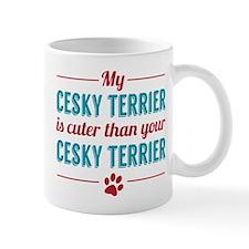 Cuter Cesky Terrier Mugs