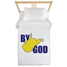 West By God Virginia Twin Duvet