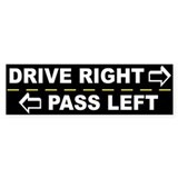Drive right pass left Single