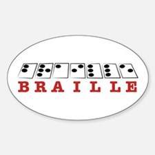 Braille Letters Decal