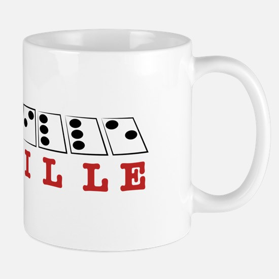 Braille Letters Mugs