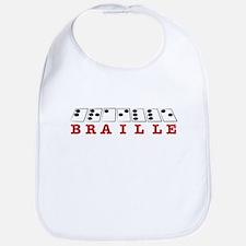 Braille Letters Bib