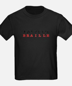 Braille Letters T-Shirt