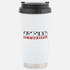 Communicate Travel Mug