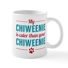 Cuter Chiweenie Mugs