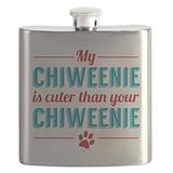 Chiweenie Flasks