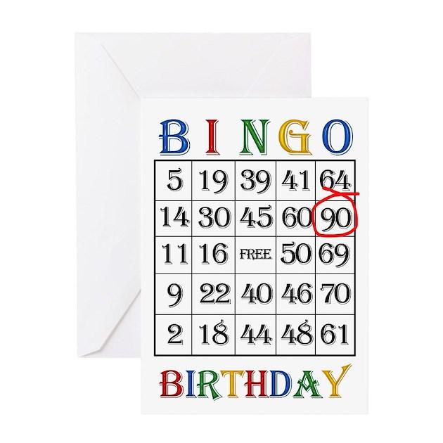 90 bingo