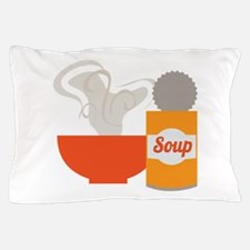 Soup Can Pillow Case