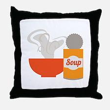 Soup Can Throw Pillow