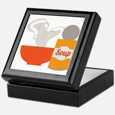 Soup Can Keepsake Box