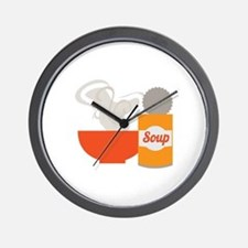 Soup Can Wall Clock