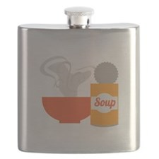 Soup Can Flask