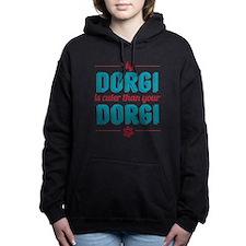 Cuter Dorgi Women's Hooded Sweatshirt