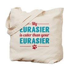 Cuter Eurasier Tote Bag