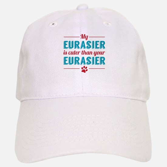 Cuter Eurasier Baseball Baseball Cap