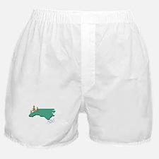 North Carolina Boxer Shorts