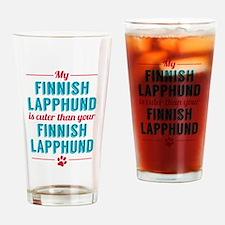 My Finnish Lapphund Drinking Glass