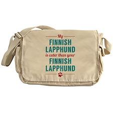 My Finnish Lapphund Messenger Bag