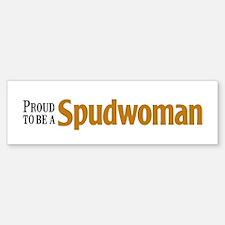 Proud To Be A Spudwoman (bumper) Bumper Bumper Bumper Sticker