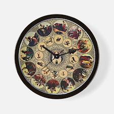 Prague astrology clock Wall Clock