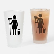 Cleaning service Drinking Glass