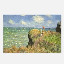Cliff Walk at Pourville b Postcards (Package of 8)